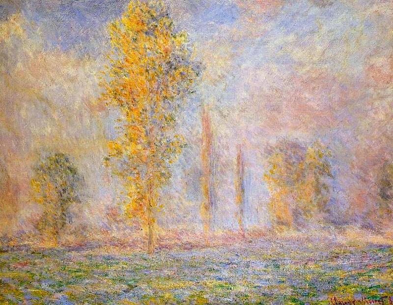 Meadow at Giverny. Claude Oscar Monet