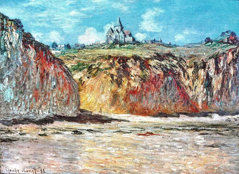 The Church at Varengeville 02. Claude Oscar Monet