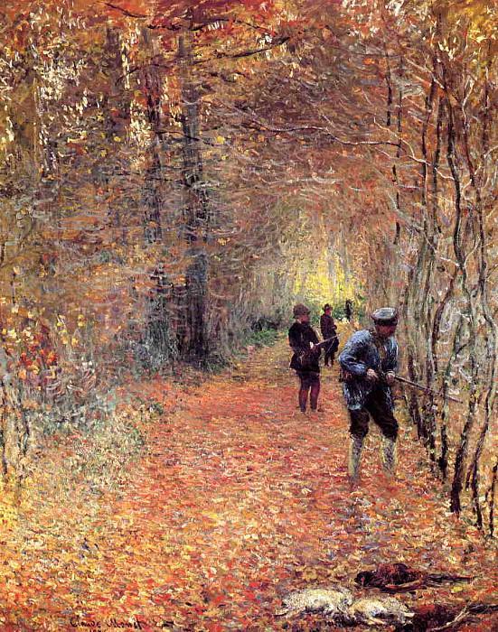 The Shoot. Claude Oscar Monet