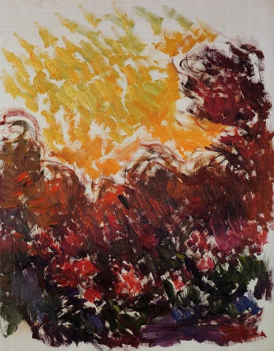 The Garden at Giverny. Claude Oscar Monet