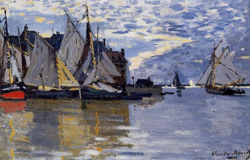 Sailboats. Claude Oscar Monet