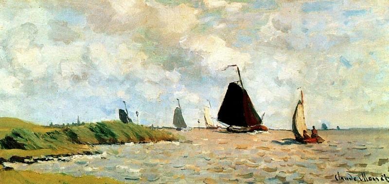 Seascape. Claude Oscar Monet