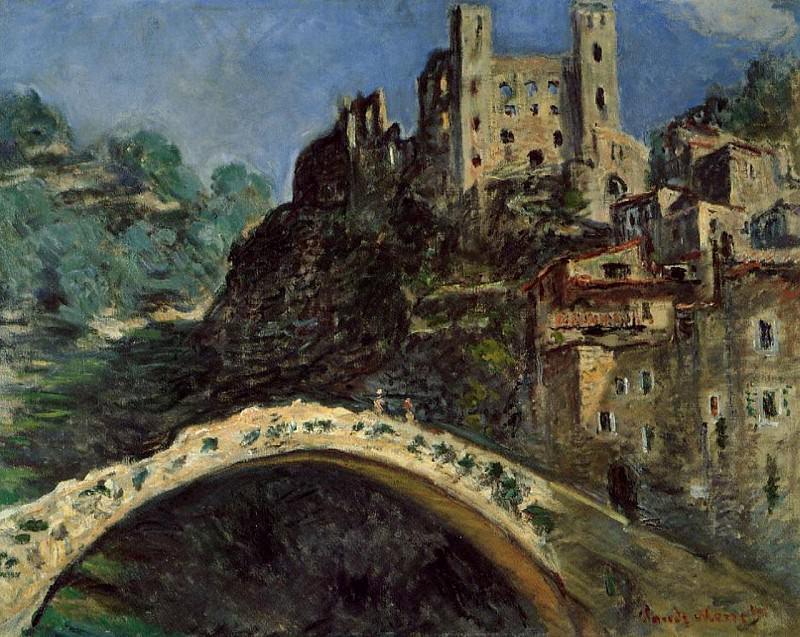 Dolceacqua, Castle. Claude Oscar Monet