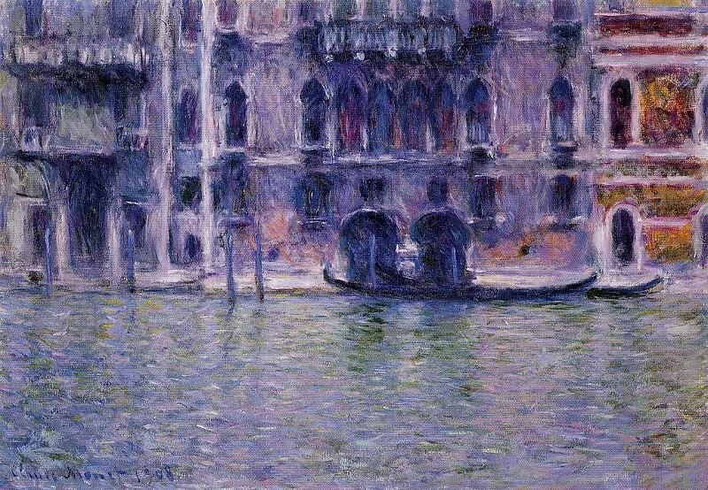 Palazzo da Mulla. Claude Oscar Monet
