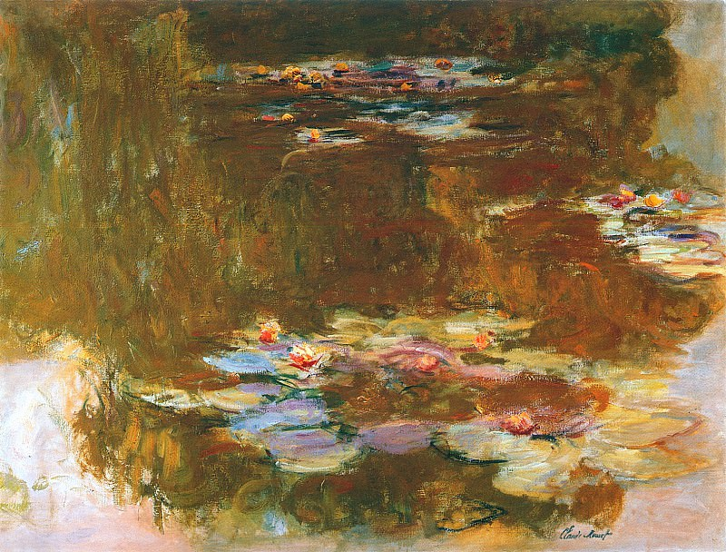 Water Lily Pond, 1917 02. Claude Oscar Monet