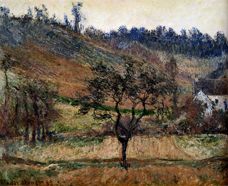 The Valley Of Falaise. Claude Oscar Monet