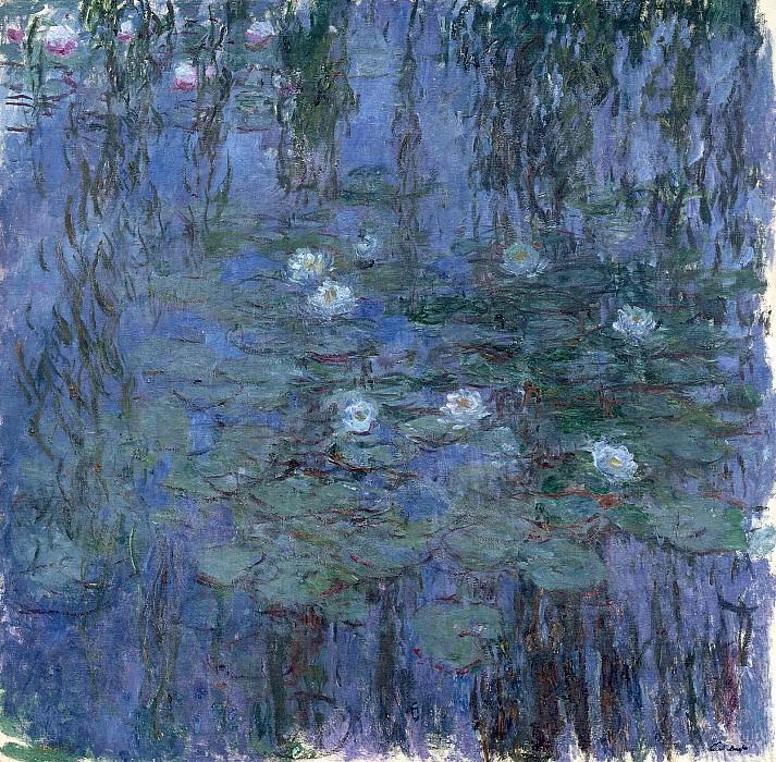 Water Lilies, 1916-19 06. Claude Oscar Monet