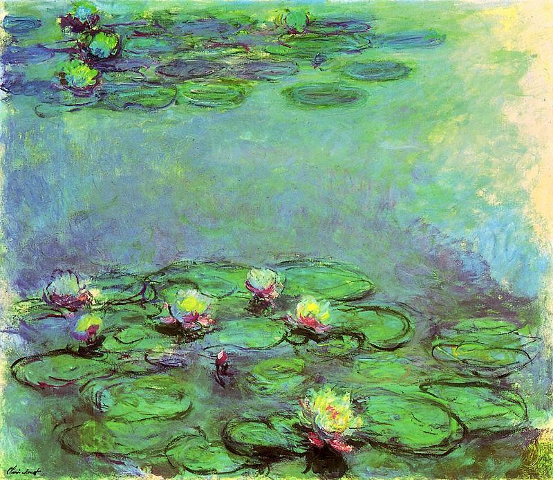 Water Lilies, 1914-17 07. Claude Oscar Monet