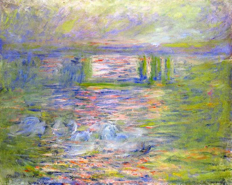 Charing Cross Bridge 2. Claude Oscar Monet