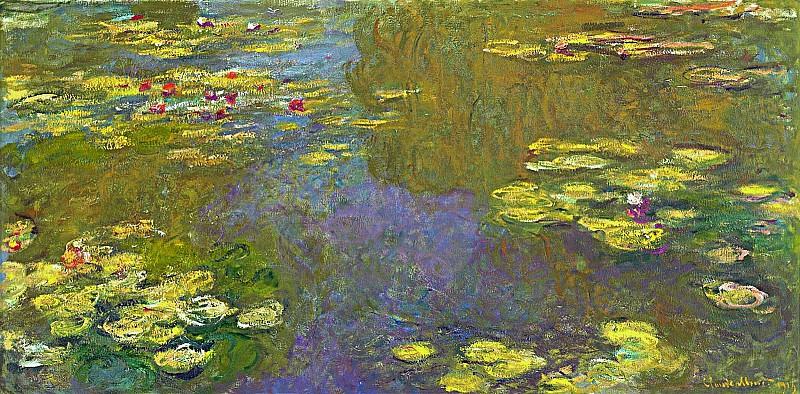 Water Lilies, 1919 03. Claude Oscar Monet