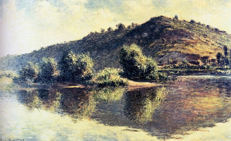 The Seine at Port Villez. Claude Oscar Monet
