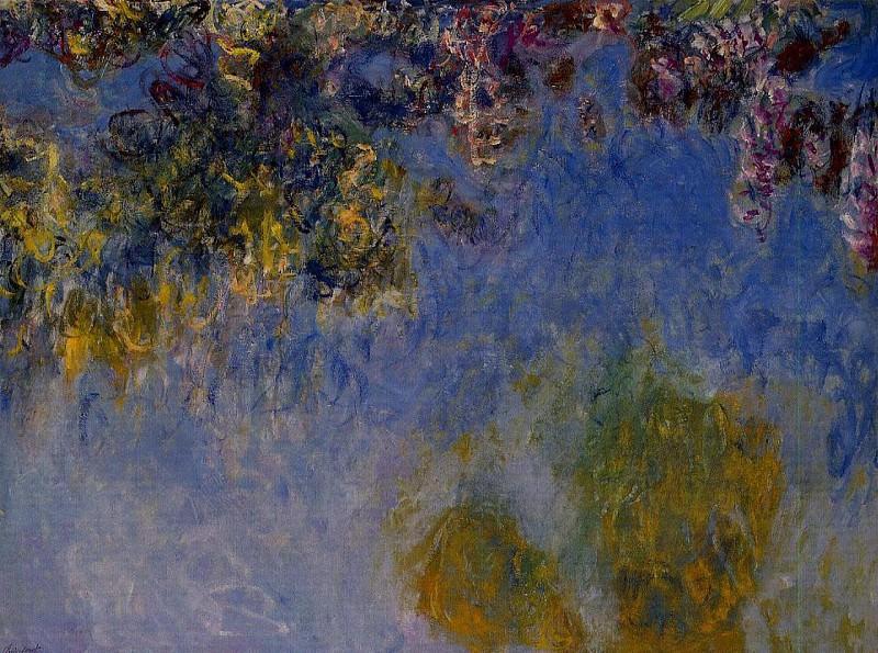 Wisteria , 1919-1920. Claude Oscar Monet