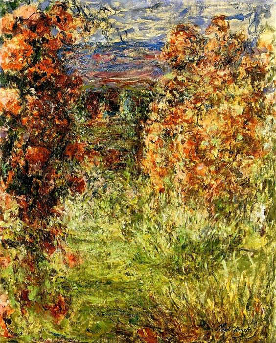 The House among the Roses 2. Claude Oscar Monet