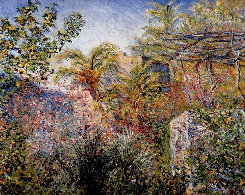 The Valley of Sasso, Bordighera. Claude Oscar Monet