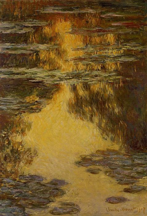 Water Lilies, 1907 09. Claude Oscar Monet