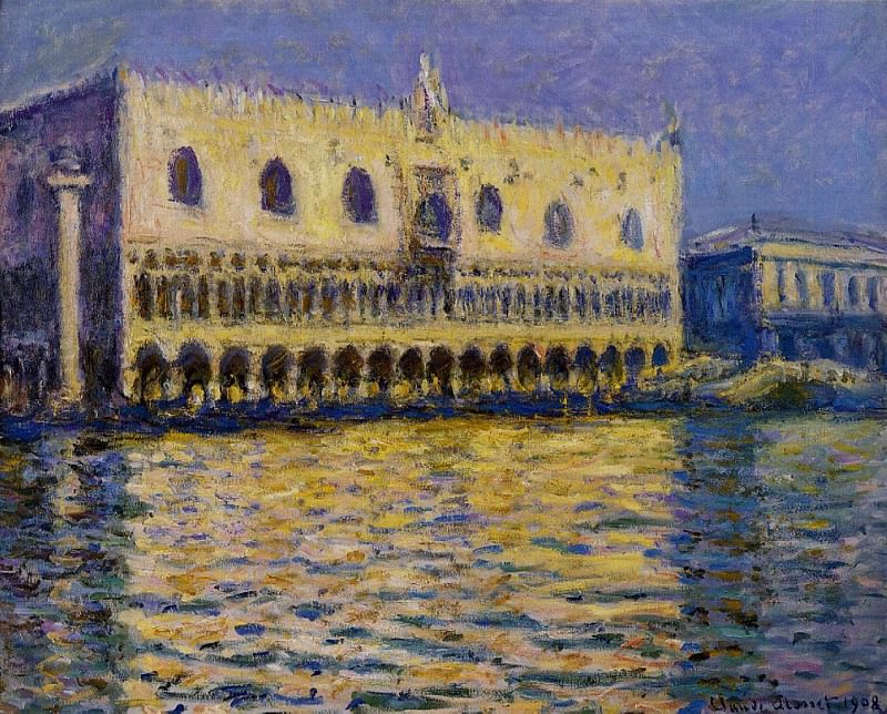 The Palazzo Ducale 2. Claude Oscar Monet