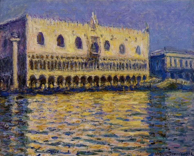 The Palazzo Ducale 2. Claude Oscar Monet