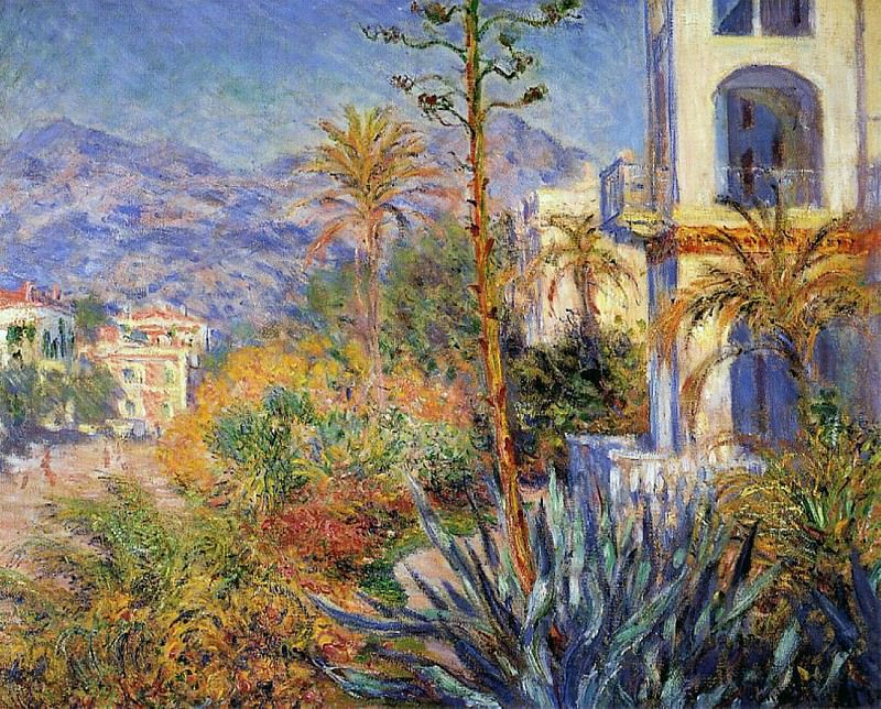 Villas at Bordighera 02. Claude Oscar Monet