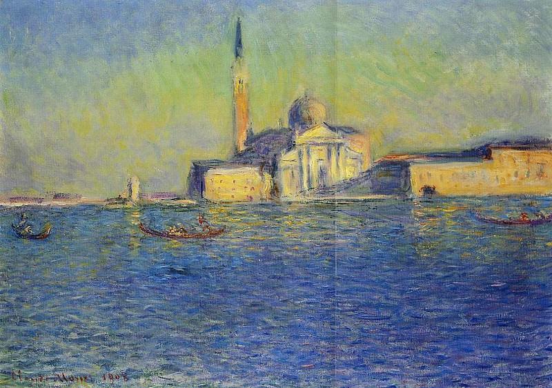 San Giorgio Maggiore. Claude Oscar Monet