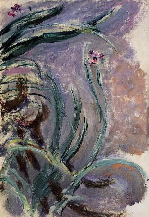 Irises. Claude Oscar Monet