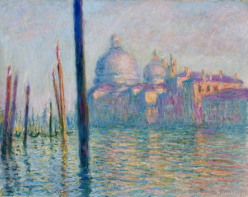 The Grand Canal in Venice 01. Клод Оскар Моне