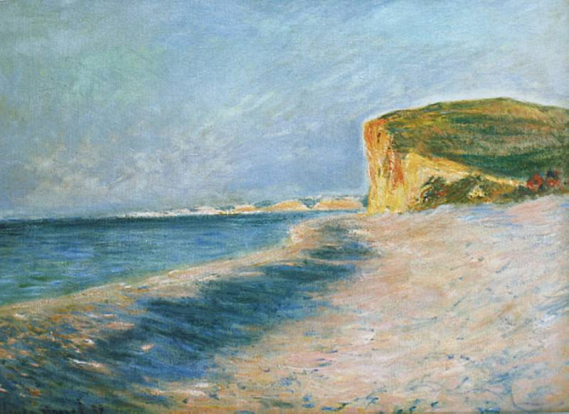 Pourville, near Dieppe. Claude Oscar Monet