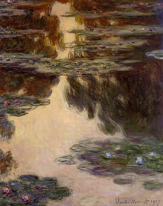 Water Lilies, 1907 13. Claude Oscar Monet