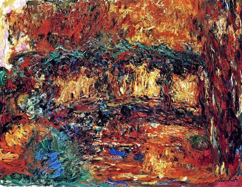 The Japanese Bridge 7. Claude Oscar Monet