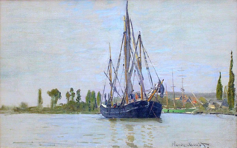 The Sailing Boat. Claude Oscar Monet