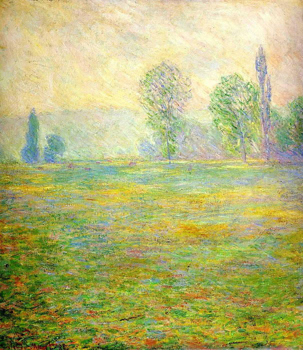 Meadows at Giverny. Клод Оскар Моне