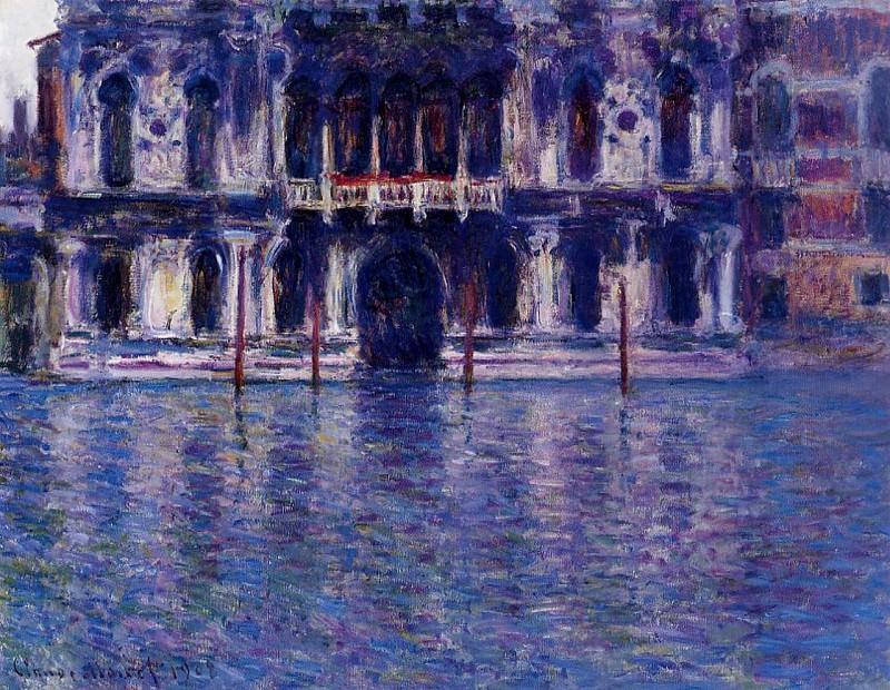 Palazzo Contarini. Claude Oscar Monet