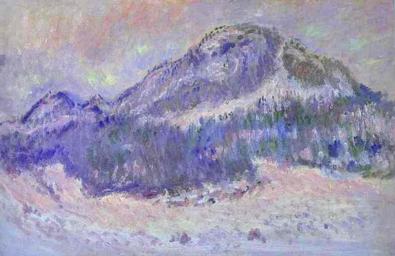Mount Kolsaas in Norway. JPG. Claude Oscar Monet