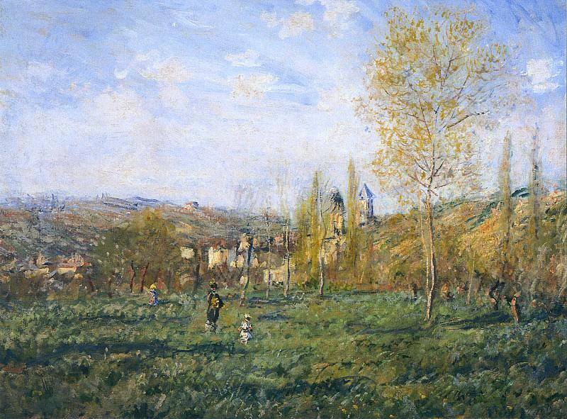 Springtime in Vetheuil. Claude Oscar Monet