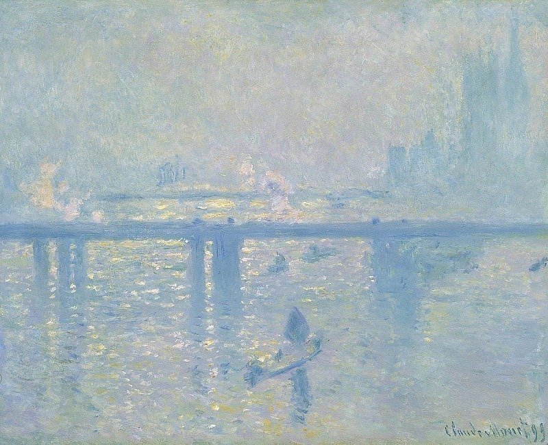 Charing Cross Bridge. Claude Oscar Monet