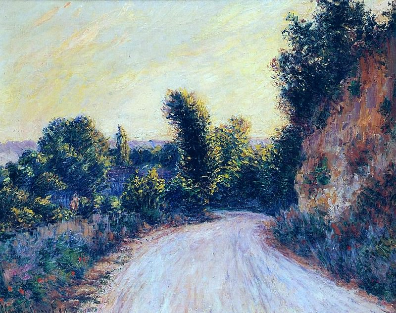 Road near Giverny. Claude Oscar Monet