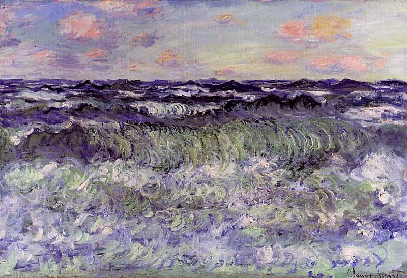 Sea Study. Claude Oscar Monet