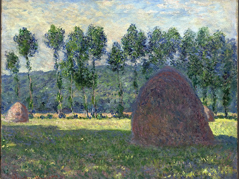 Haystack at Giverny. Claude Oscar Monet