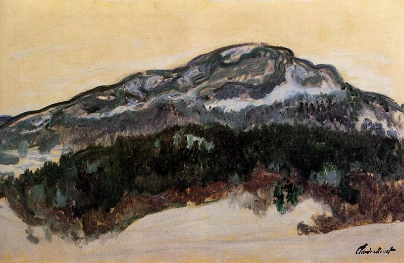 Mount Kolsaas, Norway. Claude Oscar Monet