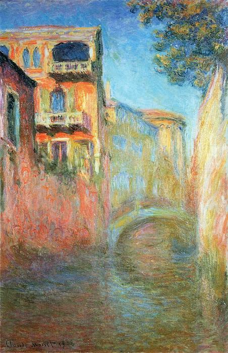 Rio della Salute 03. Claude Oscar Monet
