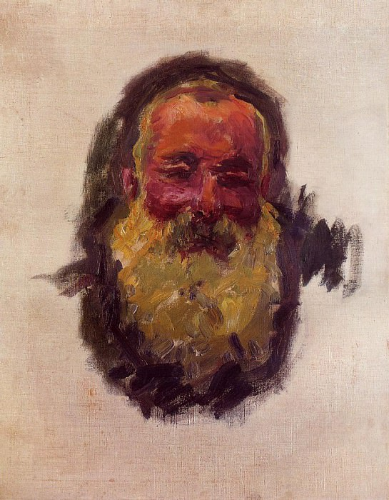 Self Portrait. Claude Oscar Monet