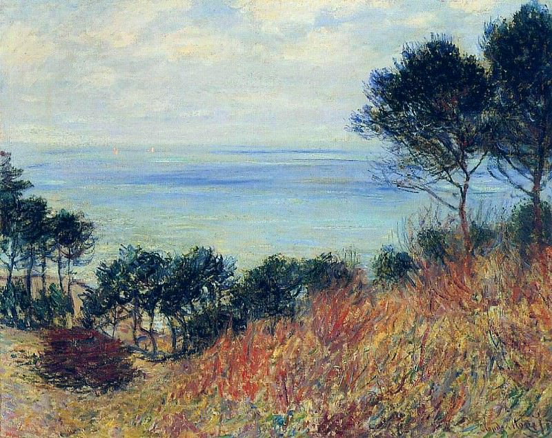 The Coast of Varengeville. Claude Oscar Monet