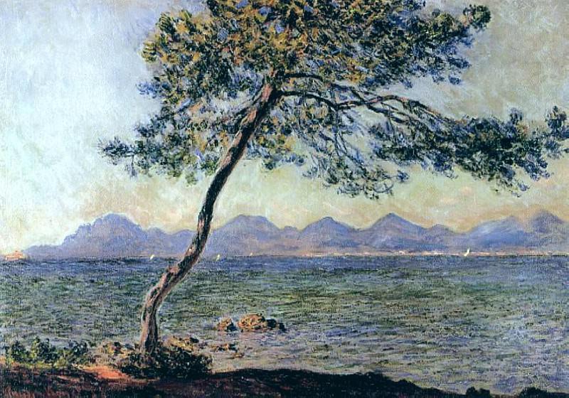 At Cap d'Antibes. Claude Oscar Monet