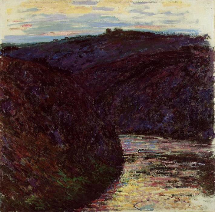 Valley of the Creuse. Claude Oscar Monet