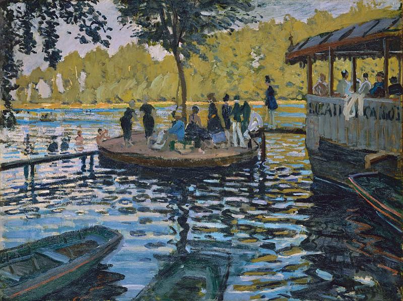 La Grenouillere. Claude Oscar Monet