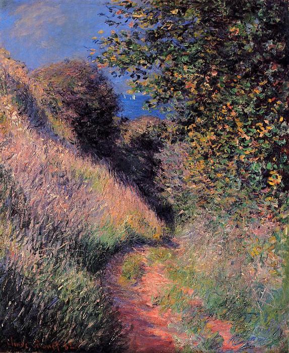 Path at Pourville. Claude Oscar Monet