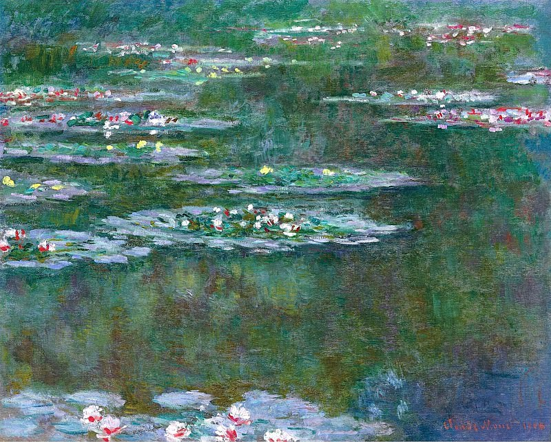 Water Lilies, 1904 03. Клод Оскар Моне