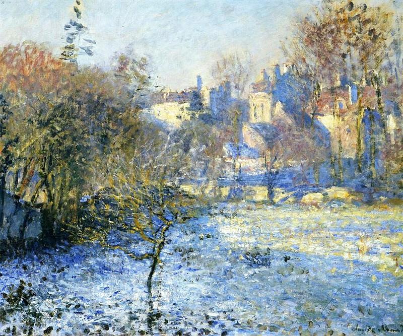 Frost. Claude Oscar Monet