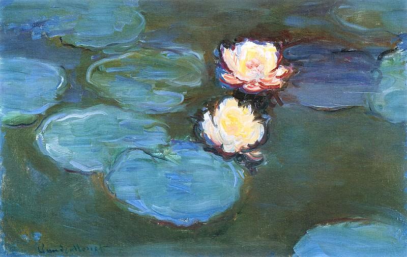 Water Lilies. Claude Oscar Monet