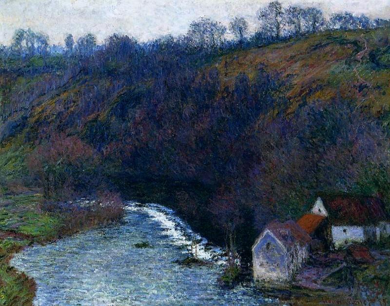 The Mill at Vervy. Claude Oscar Monet