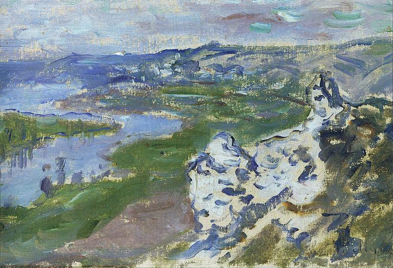 La Seine, vue des Hauteurs de Chantemesle. Claude Oscar Monet